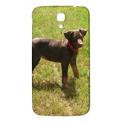 Red Doberman Puppy Samsung Galaxy Mega I9200 Hardshell Back Case