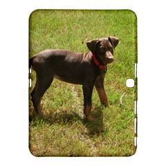 Red Doberman Puppy Samsung Galaxy Tab 4 (10.1 ) Hardshell Case