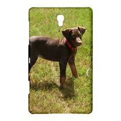 Red Doberman Puppy Samsung Galaxy Tab S (8.4 ) Hardshell Case