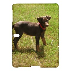 Red Doberman Puppy Samsung Galaxy Tab S (10.5 ) Hardshell Case