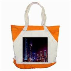 Raised Building Frame Accent Tote Bag
