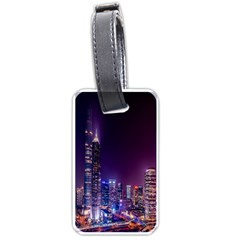 Raised Building Frame Luggage Tags (Two Sides)