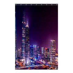 Raised Building Frame Shower Curtain 48  x 72  (Small)