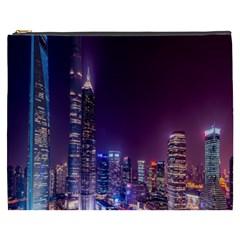 Raised Building Frame Cosmetic Bag (XXXL)