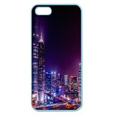 Raised Building Frame Apple Seamless iPhone 5 Case (Color)
