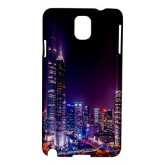 Raised Building Frame Samsung Galaxy Note 3 N9005 Hardshell Case