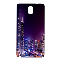 Raised Building Frame Samsung Galaxy Note 3 N9005 Hardshell Back Case