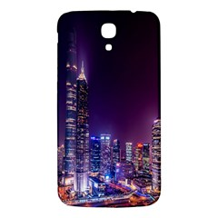 Raised Building Frame Samsung Galaxy Mega I9200 Hardshell Back Case