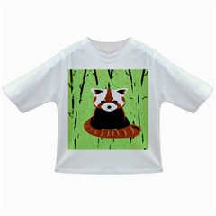 Red Panda Bamboo Firefox Animal Infant/Toddler T-Shirts