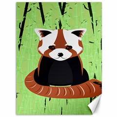 Red Panda Bamboo Firefox Animal Canvas 36  x 48