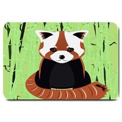Red Panda Bamboo Firefox Animal Large Doormat