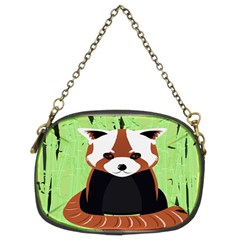 Red Panda Bamboo Firefox Animal Chain Purses (Two Sides)