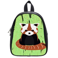 Red Panda Bamboo Firefox Animal School Bags (Small)