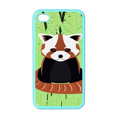 Red Panda Bamboo Firefox Animal Apple iPhone 4 Case (Color)