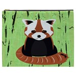 Red Panda Bamboo Firefox Animal Cosmetic Bag (XXXL)  Front