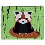 Red Panda Bamboo Firefox Animal Cosmetic Bag (XXXL)  Back