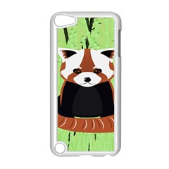 Red Panda Bamboo Firefox Animal Apple Ipod Touch 5 Case (white)