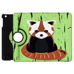 Red Panda Bamboo Firefox Animal Apple iPad Mini Flip 360 Case