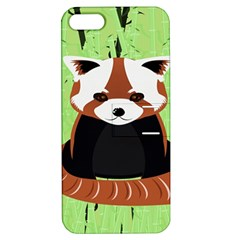 Red Panda Bamboo Firefox Animal Apple iPhone 5 Hardshell Case with Stand