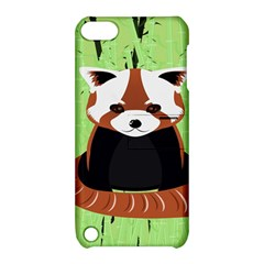 Red Panda Bamboo Firefox Animal Apple iPod Touch 5 Hardshell Case with Stand