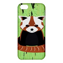 Red Panda Bamboo Firefox Animal Apple iPhone 5C Hardshell Case