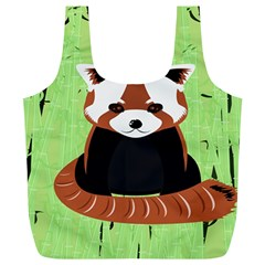 Red Panda Bamboo Firefox Animal Full Print Recycle Bags (L)