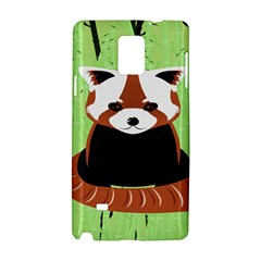 Red Panda Bamboo Firefox Animal Samsung Galaxy Note 4 Hardshell Case