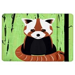 Red Panda Bamboo Firefox Animal iPad Air 2 Flip