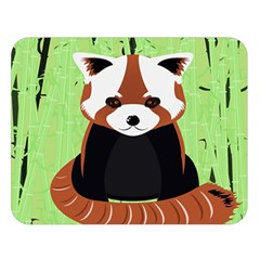Red Panda Bamboo Firefox Animal Double Sided Flano Blanket (large)