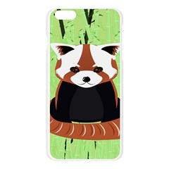 Red Panda Bamboo Firefox Animal Apple Seamless iPhone 6 Plus/6S Plus Case (Transparent)