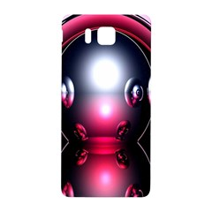 Red 3d  Computer Work Samsung Galaxy Alpha Hardshell Back Case