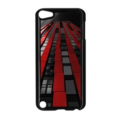 Red Building City Apple iPod Touch 5 Case (Black)