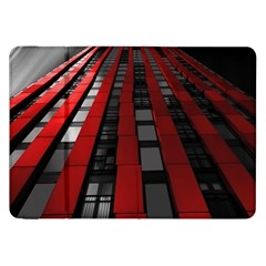 Red Building City Samsung Galaxy Tab 8.9  P7300 Flip Case
