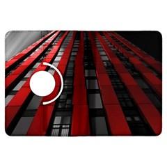 Red Building City Kindle Fire HDX Flip 360 Case