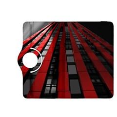 Red Building City Kindle Fire HDX 8.9  Flip 360 Case