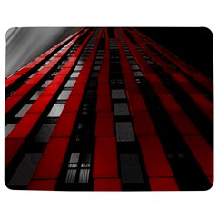 Red Building City Jigsaw Puzzle Photo Stand (Rectangular)