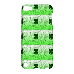 Shamrock Pattern Background Apple iPod Touch 5 Hardshell Case