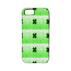 Shamrock Pattern Background Apple iPhone 5 Classic Hardshell Case (PC+Silicone)