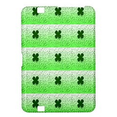 Shamrock Pattern Background Kindle Fire HD 8.9