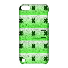 Shamrock Pattern Background Apple iPod Touch 5 Hardshell Case with Stand