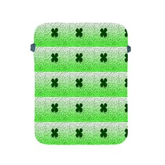 Shamrock Pattern Background Apple iPad 2/3/4 Protective Soft Cases
