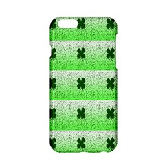 Shamrock Pattern Background Apple iPhone 6/6S Hardshell Case