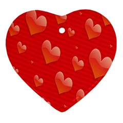 Red Hearts Ornament (Heart)