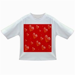 Red Hearts Infant/Toddler T-Shirts