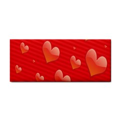 Red Hearts Cosmetic Storage Cases