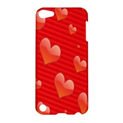 Red Hearts Apple iPod Touch 5 Hardshell Case