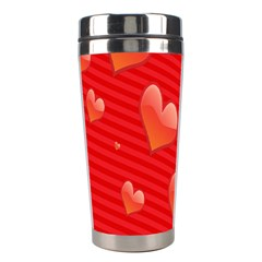 Red Hearts Stainless Steel Travel Tumblers
