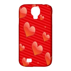 Red Hearts Samsung Galaxy S4 Classic Hardshell Case (PC+Silicone)