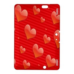 Red Hearts Kindle Fire HDX 8.9  Hardshell Case