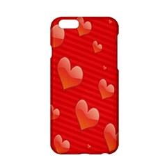 Red Hearts Apple Iphone 6/6s Hardshell Case